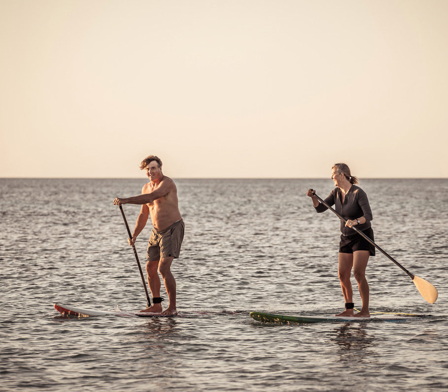 Try Paddleboarding, and You'll Get a Total-Body Cardio Workout While Meditating